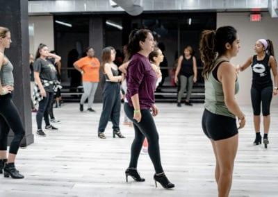 Heels Dancing in Houston